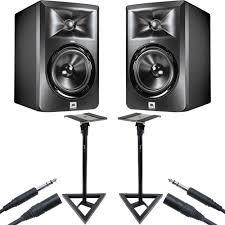 jbl 305 pair. jbl lsr305 studio stand bundle jbl 305 pair