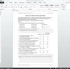 Survey Form Doc Buildbreaklearn Co