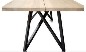 Casa Padrino Luxus Esstisch Mit Naturfarbener Tischplatte Und