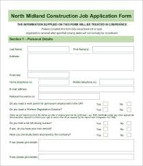 Form For Employee Employee Application Form 9 Free Word Pdf Documents