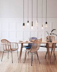 attractive rattan dining chairs regarding best 25 ideas on house decorations 1