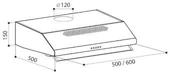 Подвесная <b>вытяжка LEX Simple 600</b> Inox — купить по выгодной ...