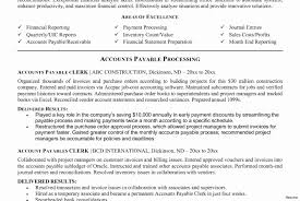 Account Payable Resume Account Payable Clerk Resume Cancercells 24
