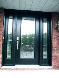 contemporary glass front doors s modern all glass front door