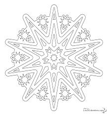 Inspiration Coloriage Mandala Flocon De Neige
