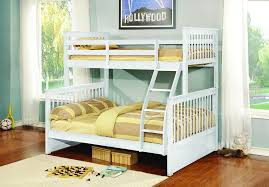 Paloma White Twin over Full Bunk Bed