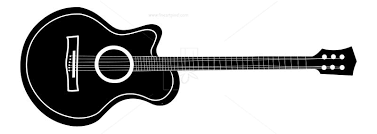 Guitar Silhouette Clip Art Free Vectors Illustrations Graphics Clipart