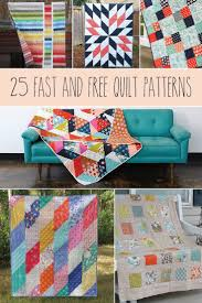 Best 25+ Easy quilt patterns ideas on Pinterest | Quilt patterns ... & 25 Fast and Free Quilt Patterns Adamdwight.com