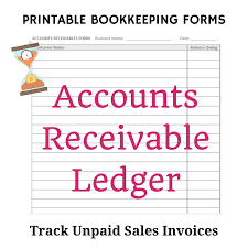 Bookeeping Ledger Free Bookkeeping Forms And Accounting Templates Printable Pdf