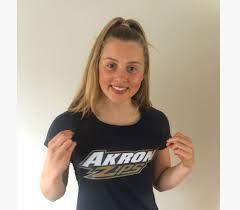 2019 Irish National Champion Amelia Kane Verbals to Akron for 2021