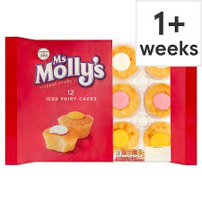 Ms Mollys 12 Iced Fairy Cakes Tesco Groceries