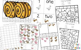 it includes a variety of math and literacy activities all with a fun farm and farm animal theme you can find all of preschool learning activities here