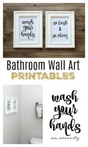 free printables for the bathroom several sets to choose from and ready to download and on high end bathroom wall art with bathroom wall art free printables to easily print and hang