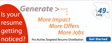 Resume Distribution