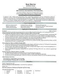 Mechanical Engineering Resume Template Gorgeous Resume Templates For Engineers Administrativelawjudge