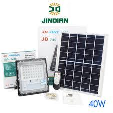 ĐÈN LED NĂNG LƯỢNG MẶT TRỜI, JINDIAN JD740 (40w), Chính hãng mới 100%, Bảo  hành 2 năm