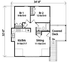 2Car Garage Apartment  2241SL  Architectural Designs  House PlansGarage With Apartment Floor Plans