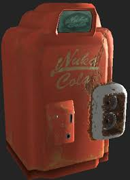 Nuka Cola Vending Machine Fascinating Fallout 48Style NukaCola Vending Machine Replacer At Fallout New