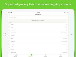 Typical Grocery List Mealime Meal Plans Recipes On The App Store