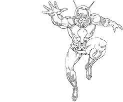 Small Picture Ant Man 21 Superheroes Printable coloring pages