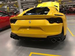 2018 ferrari superfast price.  price bright yellow ferrari 812 superfast photographed inside the factory for 2018 ferrari superfast price