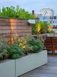 garden screen. Outdoor Screen Divider With Planting And Speakers Garden