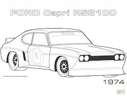 Small Picture Muscle car coloring pages Free Printable Pictures