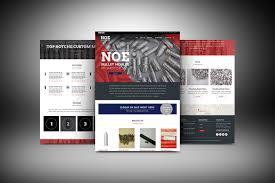 Provo Web Design Website Design For Bullet Casting Company On Behance