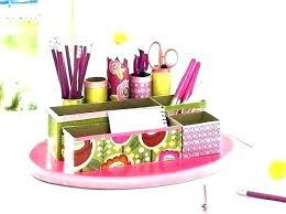 Pink Desk Accessories Pink Desk Accessory Cute Desk Accessories Cute Desk  Organizers Office Accessories Set Depot .