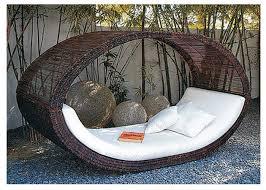 coffee oval style outdoor wicker sunbeds garden furniture weatherproof china outdoor rattan garden