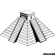 Small Picture Aztec Warrior clipart chichen itza Pencil and in color aztec