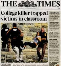 「2007、Virginia Tech massacre」の画像検索結果