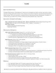 ... Warm Resume Formating 7 Formatting Resume ...