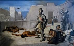 félix parra em episodes of the conquest massacre of cholula