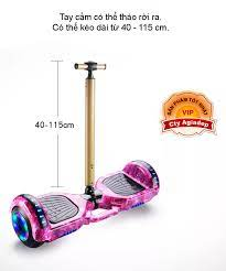 Xe điện cân bằng GIORMANI có 2 bánh phát sáng + Tay Điều khiển + Phụ kiện