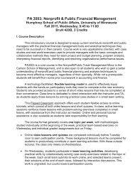 Access Financial Management Pa 3003 Nonprofit Public Financial Management Humphrey