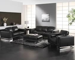 black leather living room furniture. Modern Black Leather Living Room Furniture Faux