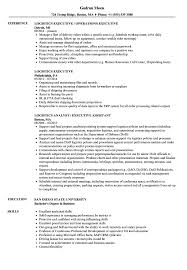Executive Resume Logistics Executive Resume Samples Velvet Jobs 12