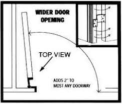 offset door hinges. top view of hinge installation offset door hinges l