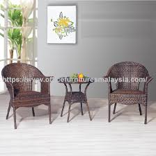 2 seat round armchair garden furniture set outdoor furniture malaysia kuala lumpur petaling jaya