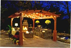 Outdoor Gazebo Lighting Magnificent Led Patio Lights Hanging Gazebo Chandelier Outdoor Lighting