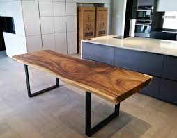 metal and wood dining table. Wood Dining Tables. Solid Table With Black Metal Legs Tables L And