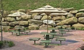 streetscape outdoor patio umbrellas