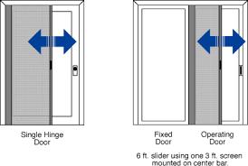 Retractable Door Screen ScreenEx