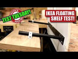 how strong is an ikea lack floating shelf