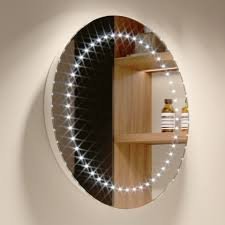 Battery Operated Bathroom Mirrors