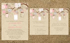 kraft and pink brown mason jar elegant classy flowers rustic Vintage Shabby Chic Wedding Invitations like this item? buy vintage shabby chic wedding invitations