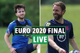 England vs Italy in the final deduction ...