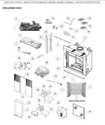 a plus inc lennox lsm40 montebello replacement parts and accessories temco fireplace