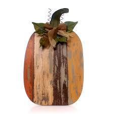 Small Picture Home Decor Wood Slat Pumpkin Figurine Wood slats Wood types and